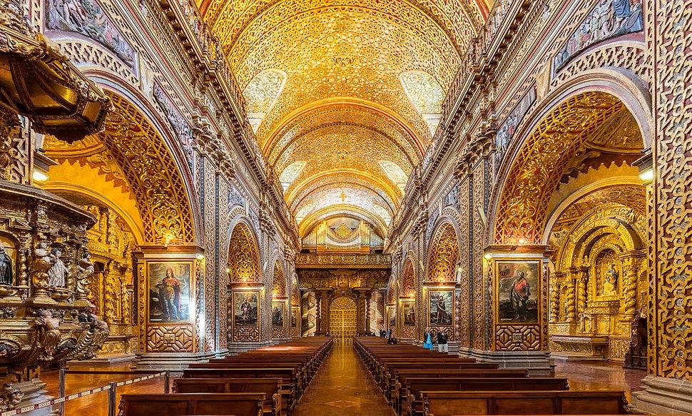Iglesia de La Compañía, Quito, Ecuador, 2015-07-22, DD 128-130 HDR