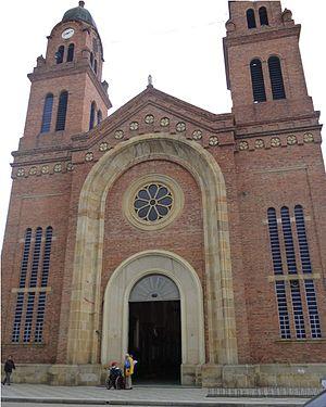 Mosquera, Cundinamarca - Image: Iglesia mosquera 2012