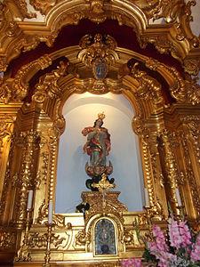 Igreja Matriz Altar lateral Senhora da Conceição