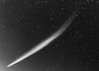 Comet Ikeya–Seki - Image: Ikeyaseki tail 30Oct 1965