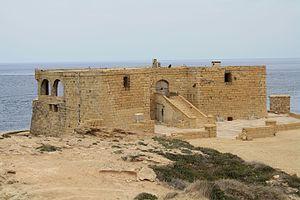 Qolla l-Bajda Battery - Image: Il Qolla l Bajda Battery 2