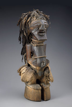 Cult image - African Songye Power Figure