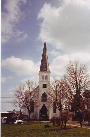 Belvidere, Illinois - Immanuel Lutheran Church in Belvidere