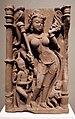 India, rajastan, vergine celeste servita da un asceta e un infante, XI secolo.jpg