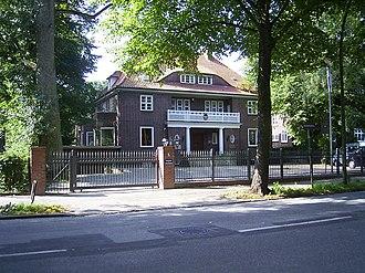 Winterhude - Indonesian Consulate in Hamburg.