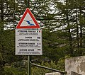Informatiebord. Bergtocht van parkeerplaats bij centrale Malga Mare naar Lago del Careser 02.jpg