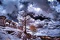 Infrared HDR Pulpit Rock Park Colorado Springs (7435969306).jpg
