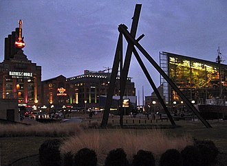 Inner Harbor - The Inner Harbor neighborhood is centered on a tourism-friendly plaza that surrounds part of the harbor.