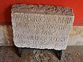 Inscripció monumental, MARCO VALERIO SOLANA, Museu de Belles Arts de València.JPG