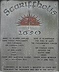 Inscription on stone, Scariffhous - geograph.org.uk - 1975767.jpg