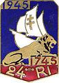 Insigne régimentaire du 24e Régiment d'Infanterie, 1745 - 1945.jpg