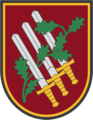 Insignia of the Vilnius Garrison Officers Club (Lithuania).png