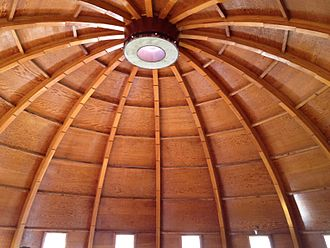 Integratron - Ceiling of the Integratron, January 2012