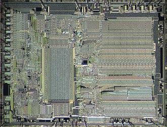 X87 - Image: Intel 80287 die