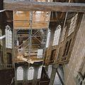 Interieur- Zicht vanaf werkniveau 3 op de geopende fotowand afscheidingswand - Alkmaar - 20342267 - RCE.jpg