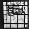 Interieur detail glas in loodraam tijdens restauratie - Heemstede - 20104596 - RCE.jpg
