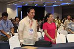 Introduced Sen- Grace Poe as AG Sison memorial lecturer in the Philippine College of Physicians annual convention last May 6, 2013 at SMX Mall of Asia- Dr- Tony Leachon is the current President of the Philippi 2014-05-09 12-43.jpg