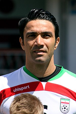 Javad Nekounam - Nekounam with Iran in 2014