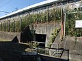 Irrigation & drainage culvert under Tokaido Shinkansen in Hiratsuka 03.jpg