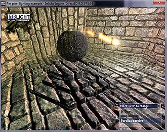 Irrlicht Engine - Per-Pixel Lighting in Irrlicht