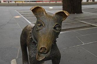 Larry La Trobe - Image: Irving Bronze Sculpture Larry La Trobe 1992 1996 c