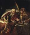 Isaac Blessing Jacob (Abraham van Dijck) - Nationalmuseum - 17297.tif