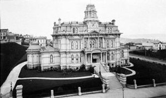 Charles Crocker - Crocker's mansion on Nob Hill, San Francisco (c. 1880)