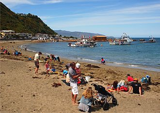 Island Bay, New Zealand - Blessing of the Boats ceremony during the 2012 Island Bay Festival