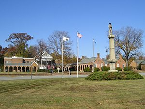 Isle of Wight County, Virginia - Image: Isle of Wight Courthouse, Isle of Wight, VA