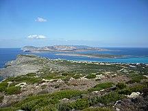 Sardinien-Provinser-Fil:Isola dell'Asinara - vista da Torre del Falcone