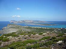 L'Asinara vista dalla torre di capo Falcone