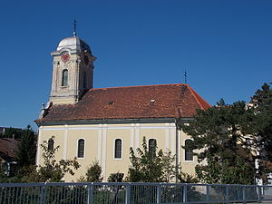 Eparchy of Mukačevo and Prešov - Eastern Orthodox Church in Komárno (Slovakia), built in the middle of 18th century under jurisdiction of the Serbian Orthodox Eparchy of Buda