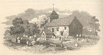 Itchingfield - Image: Itchingfield Church print