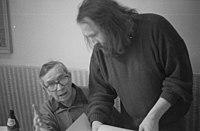 Ivan Diviš with Ivan Wernisch.jpg
