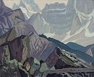 J. E. H. MacDonald - Goat Range Rocky Mountains, 1932, McMichael Canadian Art Collection, Kleinburg