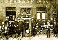 J. Marcilly, marchand de vin, en 1908 à Romilly.jpg