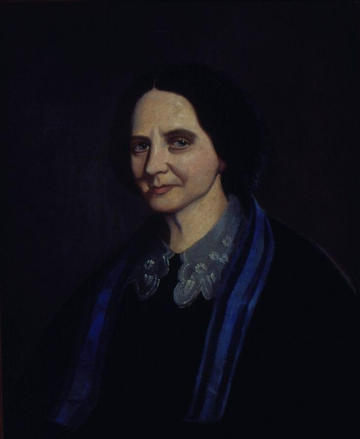 Retrato de Gertrudes A. Barros (Baronesa de Piracicaba)
