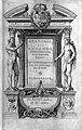J. Valverde de Hamusco, Anatomie, 1568; title page Wellcome L0025638.jpg