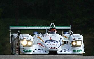 JJ Lehto - JJ Lehto at 2005 Petit Le Mans.