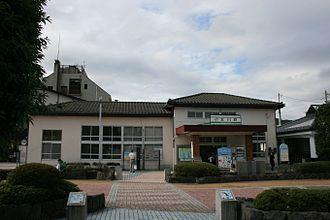 Onagawa Station - Image: JR Ishinomaki Onagawa Sta