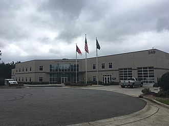 JR Motorsports - The JR Motorsports race shop in Mooresville, North Carolina