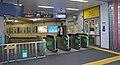 JR Sobu-Main-Line Kameido Station East Gates.jpg