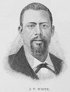 James T. White (politician) journalist