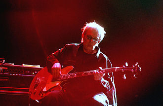 Jack Casady - Casady playing on his signature bass with Hot Tuna in 2005.
