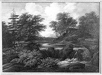Jacob van Ruisdael (Nachahmer) - Waldlandschaft - 5190 - Bavarian State Painting Collections.jpg