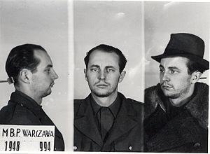 Jan Rodowicz - Jan Rodowicz after arrest by MBP