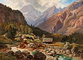Jan Trentan-Havliček - The Upper Trenta Valley in the Julian Alps.jpg