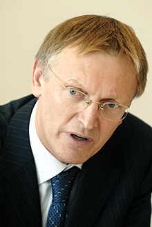 Janez Potocnik, EU-kommissionar inom forskning pa Nordiska ministerradets konferens Investing in Research and Innovation - Exchanging European Experiences in a Nordic Context, Kopenhamn 2006-10-17.jpg