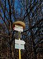 Jankovice (UH), Pod Kozincem, turistické značení.jpg