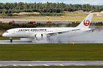 Japan Airlines, JA838J, Boeing 787-8 Dreamliner (29904520725).jpg